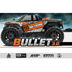HPI Bullet MT 3.0 Rtr 1/10 2.4Ghz Waterproof