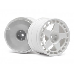 1/8 HPI fifteen52 TURBOMAC WHEEL WHITE (2.2/57X35MM/2PCS)