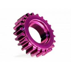 ALUMINUM THREADED PINION GEAR 22Tx12mm (1M)