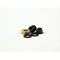 SPRING 4.9x8x7mm/WASHER 4.3x10x1.0mm(HEX HOLE) SET