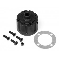 DIFFERENTIAL CASE SET  PULSE 4.6 BUGGY RTR