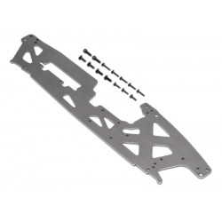 TVP CHASSIS (RIGHT/GRAY/3MM)
