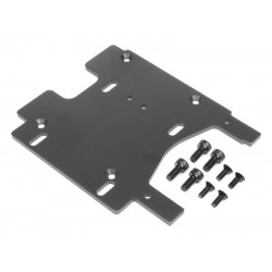 MOTOR PLATE 3.0mm (7075/GRAY) SAVAGE FLUX HP