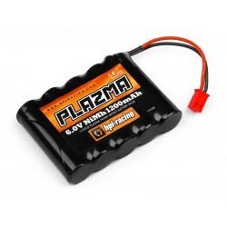 PLAZMA 6.0V 1200mAh NI-MH MICRO BATTERY PACK - 1/18 mikro RS4 için