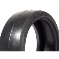 RACING SLICK BELTED TIRE 24mm (23R) (2pcs)