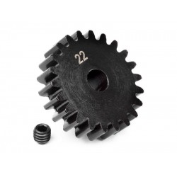 PINION GEAR 22 TOOTH (1M / 5mm SHAFT)