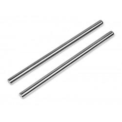 SUSPENSION SHAFT 4x71mm Silver (FRONT/INNER) VORZA / D8S