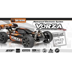HPI VORZA FLUX HP MAMBA MONSTER - WATERPROOF - RTR 2.4GHZ 1/8 EP BUGGY