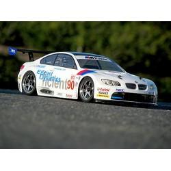 1/10 BMW M3 GT2 (E92) BODY (200mm) BOYASIZ ŞEFFAF KAPORTA
