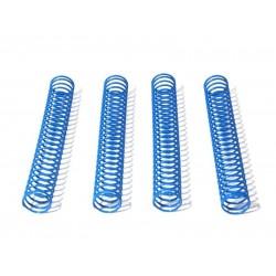 SHOCK SPRING 14.4x117x1.3mm 26 COILS (BLUE/4pcs)