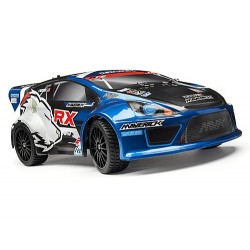 RALLY PAINTED BODY BLUE WITH DECALS (1/18 ION RX) BOYALI HAZIR KAPORTA