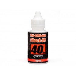PRO SILICONE SHOCK OIL 40WT (400cst) WEIGHT (60cc)
