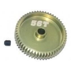 64 Pitch Pinion Gear 56T (7075 w/ Hard Coating)