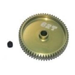 64 Pitch Pinion Gear 62T (7075 w/ Hard Coating)