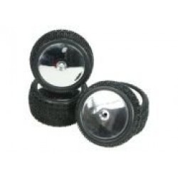 1/10 Tyre and Rim Set - Dish Type For DB-01 (4pcs)