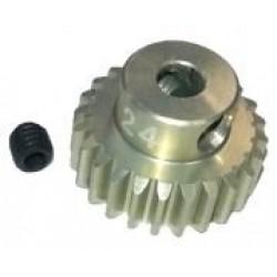 48 Pitch Pinion Gear 24T (7075 w/ Hard Coating)