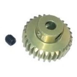 48 Pitch Pinion Gear 28T (7075 w/ Hard Coating)