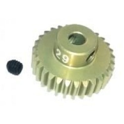 48 Pitch Pinion Gear 29T (7075 w/ Hard Coating)