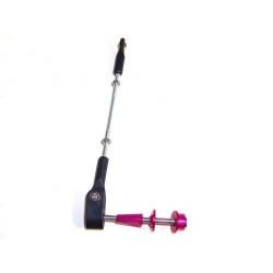 Purple Adjustable Horns(Shaft Type)(M4*57,90mm-120mm)
