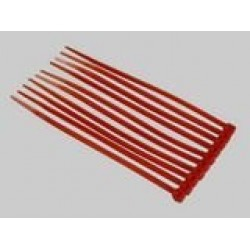Red Nylon Cable Ties (50pcs) - 3*100mm