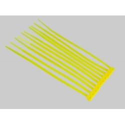 Yellow Nylon Cable Ties (50pcs) - 3*100mm