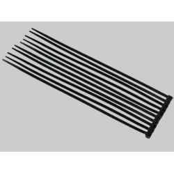 Black Nylon Cable Ties (50pcs) - 3*150mm