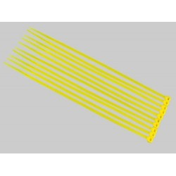 Yellow Nylon Cable Ties (50pcs) - 3*150mm
