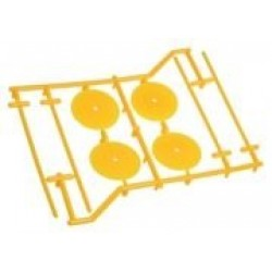 1/10 Type Set Holder (4 pcs) -Yellow
