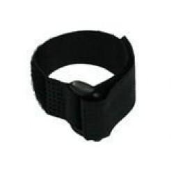 Black Hook and Loop Velcro Tie - 200mm