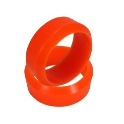 Orange 3 Degree Drift Tires 1 pair(1/10 Car)