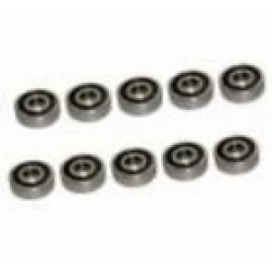 Double Rubber Seals Bearing 5 x 10 x 4 mm (10 pcs)