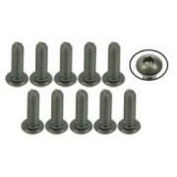 M3 x 10 Titanium Button Head Hex Socket - Machine (10 Pcs)