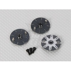 Helicopter Alloy Servo Wheels 600/700 Size