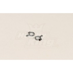 GT 450PRO Metal Tail Linkage Rod Fin Band