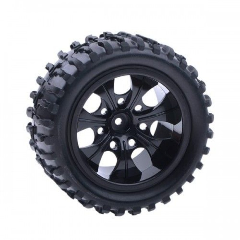 Monster Truck Tires >> Hsp Off Road Wheels Rims And Tires For All 1 10 Monster Truck