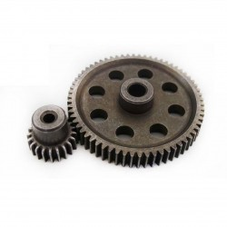 HSP Differential Metal Steel Main Gear 64T Motor Gear 29T