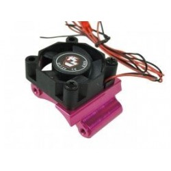 Alum, Motor Mount Heatsink with Fan Mount For Sakura D3