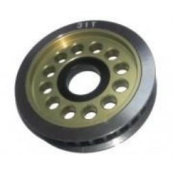 Aluminum Diff, Pulley Gear T31