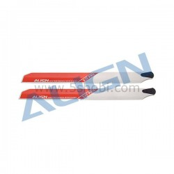 HS 1172T-01 335 Pro Main Rotor Blade/White