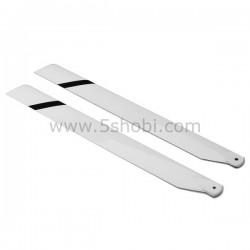 335mm Fiber Glass Main Blades For 450 Heli