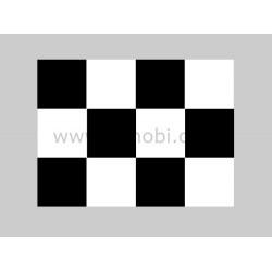 30*30mm Black-white Squares Covering Film -638*1000mm