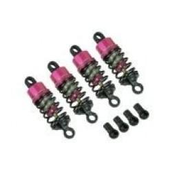 54mm Aluminum Oil Damper Set (PTFE Coated) For 3racing Sakura XI