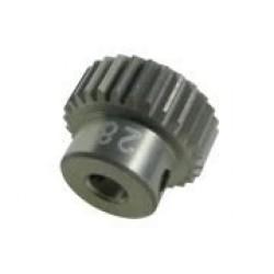 64 Pitch Pinion Gear 28T (7075 w/ Hard Coating)