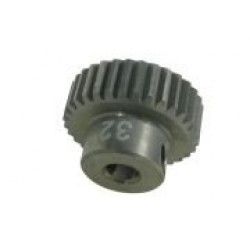 64 Pitch Pinion Gear 32T (7075 w/ Hard Coating)